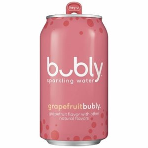 Bubly eau pétillante pamplemousse 355ml