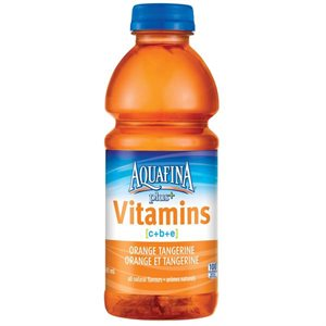 Aquafina plus orange tangerine 591ml.